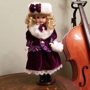 Victorian Porcelain Doll by Camellia Garden